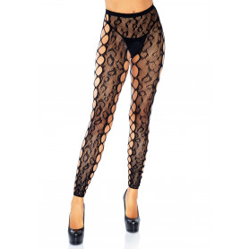 Collant senza piede Footless Crotchless Tights