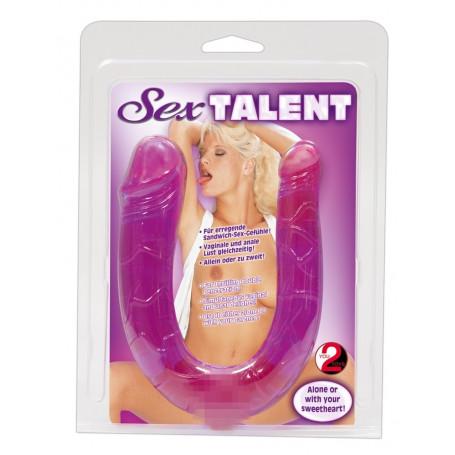 Fallo realistico piccolo doppio anale vaginale Sex Talent
