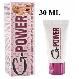 G-Power Orgasm Creme 30ml gel per donna