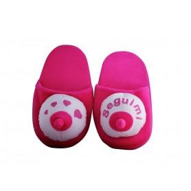Pantofole ciabatte a forma di seno pink bobbs