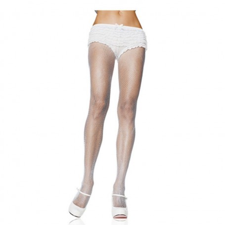 collant-a-rete-hosiery-white