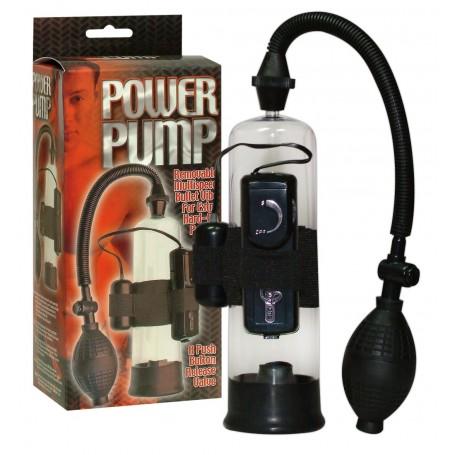 Pompa per ingandire pene power pump con vibrazione