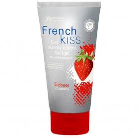 Lubrificante sessuale lick it fragola french kiss STRAWBERRY 75 ml
