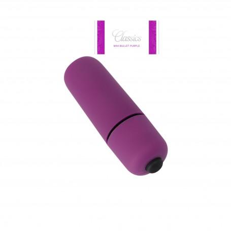 Mini vibratore vaginale per clitoride Bullet classic Purple