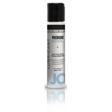 Lubrificante vaginale anale al silicone effetto freddo JO premium 30 ml