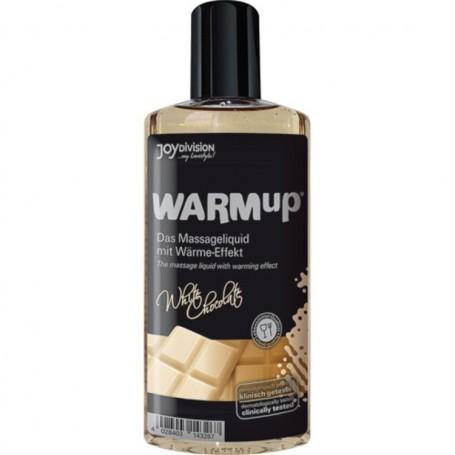 Warmup al cioccolato bianco liquido per massaggi
