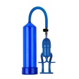 Pompa per allungare il pene sviluppatore pump up finger touch Blue