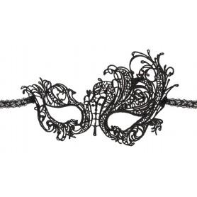 Maschera per notte da donna sexy nera veneziana gothic charm