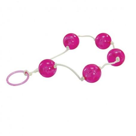 Palline del piacere anali vaginali jelly anal love balls rosa