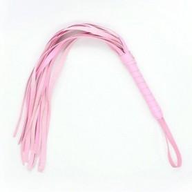 Frusta a frange squash whip pink frustino bondage fetish sexy sadomaso set rosa