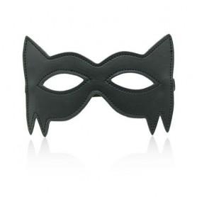 Spikes mask black ragno maschera sexy nera eco pelle bondage fetish per uomo e donna