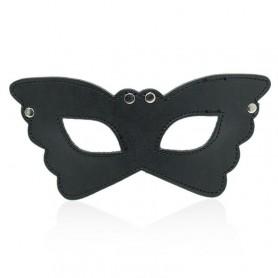 Butterfly mask black maschera indossabile bondage fetish sexy per uomo e donna
