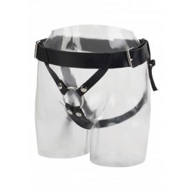Imbragatura per fallo o vibratore dildo strap on indossabile nero