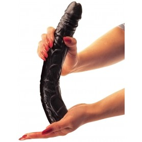 Fallo big maxi dildo grande realistico vaginale anale nero black morbido xxl