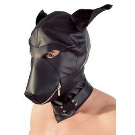 Maschera bondage fettish per uomo e donna integrale mask nero