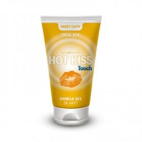 Lick-it hot kiss touch vanilla gel 50ml