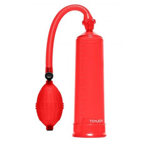 SVILUPPATORE a pompa per pene POWER PUMP red