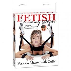 Costrittivo bondage position master with cuffs fetish fantasy series