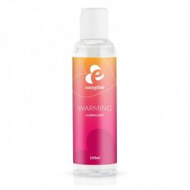 Lubrificante vaginale anale a base acqua 150 ml effetto caldo gel intimo easyglide