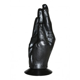 Plug a forma di mano fistin all black dildo
