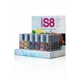 Flavour Counter Display 6x5 s8 lubrificante con espositore 50 ml