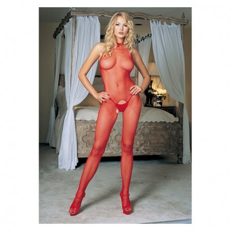 bodystocking tuta aperta sexy red leg avenue rete media