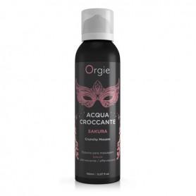 Gel schiuma da massaggio acqua croccante orgie 150 ml  sakura