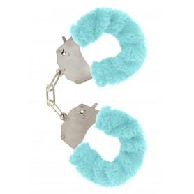 manette Furry Fun Cuffs turchese