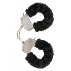 manette Furry Fun Cuffs black