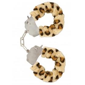 manette Furry Fun Cuffs leopard