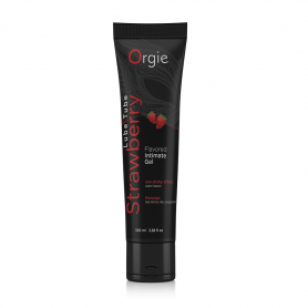Lubrificante  fragola gel intimo orgie lube tube 100 ml