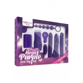 kit set mega Sex Toy Kit purple