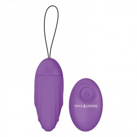 Ovetto vibrante elys Ripple Egg remote control purple