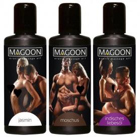 Magoon set di 3 oli da massaggio 50 ml