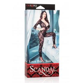 Scandal Lace Body Suit Bondagev