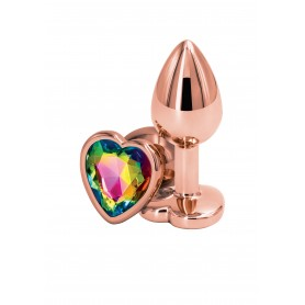 Plug anale Rose Gold Heart S