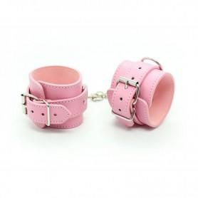 Manette Polsiere cuffs belt pink
