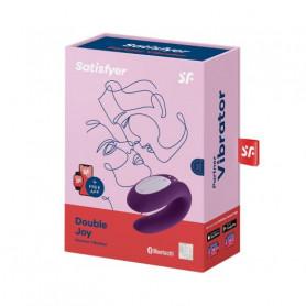 Vibratore per la coppia in silicone Satisfyer Double Joy