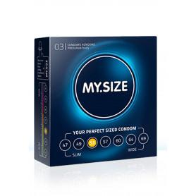 Preservativi MY.SIZE 53mm Condoms 3pcs
