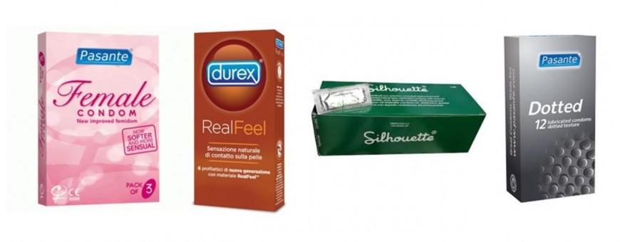 Preservativi Profilattici maschili Femminili di ogni marca e modello